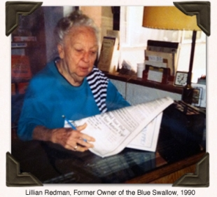 Lillian Redman Postcard